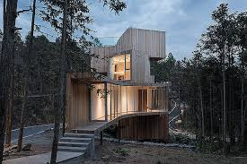 modern tree house plans. Tree House Plans For One New Modern Treehouse Spins Out 360 Degree Mountain Views N