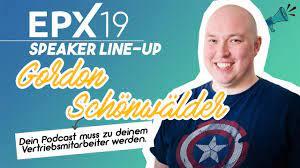 Interview mit Gordon Schönwälder: Dein Podcast muss zu deinem  Vertriebsmitarbeiter werden. - YouTube