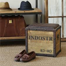 american country style industrial loft old antique iron stool storage stool changing his shoes dressing stool american country style loft