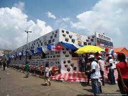 Image result for dangote pavilion at lagos international trade fair