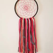 Dream Catcher Calgary Awesome Best Calgary Flames Hockey Dreamcatcher Handmade For Sale In Airdrie
