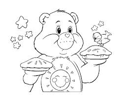 Small Picture Care Bears Coloring Pages 15 Coloring Kids