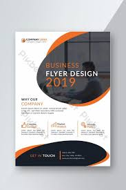 Simple Creative Flyer Design Template Ai Free Download