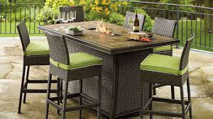 Patio Furniture With Fire Pit Table Agio Gas Sets 2018 Charming Gas Fire Pit Table And Chairs Set