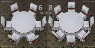 big round festive dining tables 6 8 seats at dara sims image 10214 670x339
