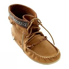 real leather moccasins lovely mens cork brown moosehide leather moccasin boots