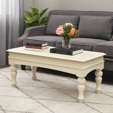 details about farmhouse coffee table wood top centerpiece modern rustic living room decor 42