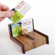 cool business card holders cool as marble business card holder woodworking plan from wood ideas