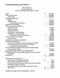 Financial Statements Format Templates Interim Financial Statements Example New Fein Personal Financial