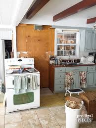 Removing Kitchen Cabinets Repurposed Kitchen Cabinets Into Home Decor Prodigal Pieces