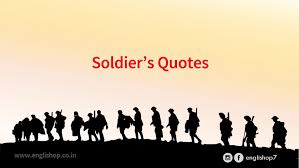 Soldier Quotes Unique 48 Powerful Soldier's Quotes Englishop