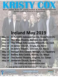 Australian Country Radio Charts Kristy Cox Ireland 2019 Mygrassisblue Com