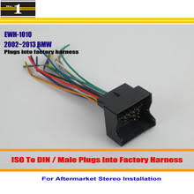 bmw radio connector online shopping the world largest bmw radio for bmw 2002~2013 male iso radio wire cable wiring harness car stereo