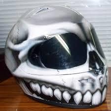 skull airbrished motorcycle helmet motorcycle helmet skull
