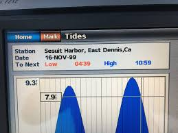 Sesuit Harbor Tide Chart Garmin 7212 Tide Chart Issue The Hull Truth Boating And