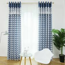 Lace Bedroom Curtains Online Get Cheap Blue Lace Curtains Aliexpresscom Alibaba Group
