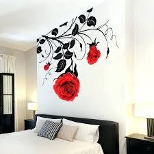 white flower wall art wall decal beautiful rose decals for walls white rose wall decal rose white flower wall art