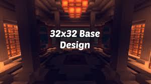 Factions Base Design Schematic 32x32 Factions Base Tour Minecraft Faction Interior Design Ep 3