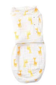 Aden Anais Safari Giraffe Easy Swaddling Cloth Hautelook