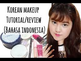 korean makeup tutorial review by alanissef bahasa indonesia