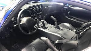 1997 Dodge Viper GTS Coupe Interior - YouTube