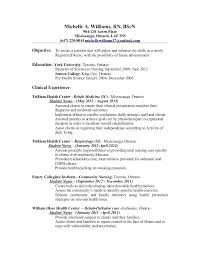 Sample Nursing Resumes Nursing Resume Examples Sample Resume For ...