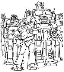 Transformer Coloring Pages Free Bumble Bee Transformer Coloring Page