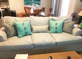 couch slipcovers before and after.  Couch Absolutely Perfect We Were Amazed At How Perfect The Fit Great Material  Matched Sample We Ordered From Perfectly Would Definitely Recommend To Anyone Throughout Couch Slipcovers Before And After R