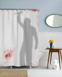 badass shower curtains. Psycho Killer Shower Curtain Badass Curtains