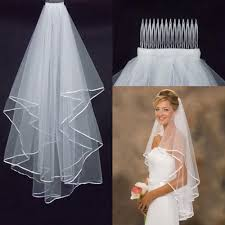 Aliexpress Com Buy High Quality Wedding Veil With Comb Short