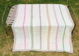 twin quilt vintage kantha quilt new