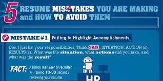 top resume mistakes