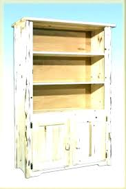 ikea pine bookcase unfinished wood bookcases with doors solid book shelves ivar