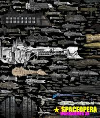 35 Detailed Spaceship Size Comparison Chart Poster