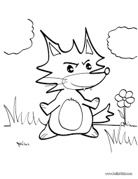 Small Picture Fox coloring pages Hellokidscom