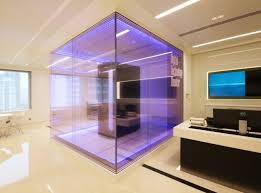 nulty client presentation centre kuala lumpur commercial office space feature server display cabinet