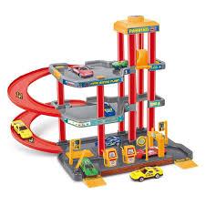 <b>Dave Toy</b> Игровой <b>набор</b> Парковка 32030, цвет красный, серый ...