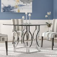 affric gl dining table by willa arlo interiors