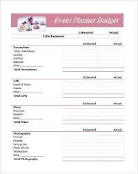 Event Planner Spreadsheet Planning Excel Budget Template Ffshop