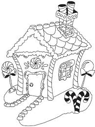 Small Picture Printable Christmas Coloring Pages Gingerbread Free coloring