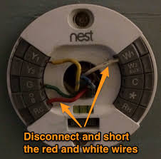furnace short cycling nest thermostat ryan duell disconnect the red and white
