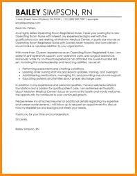 15 Example Of A Cover Letter For Nursing Auterive31 Com