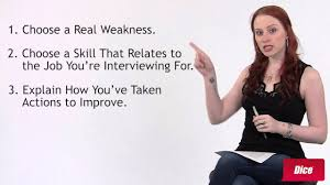 Job Weaknesses Examples How To Answer Whats Your Biggest Weakness Youtube