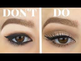 hooded eyes do s and don ts eyeshadow eyeliner for bigger eyes makeup tutorial