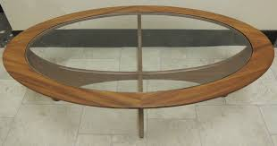 retro 1960s g plan oval shaped astro table midcentury retro and vintage coffee tables