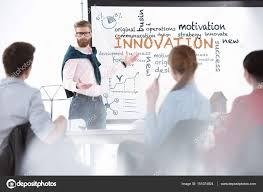 Business People With Business Plan Stock Photo