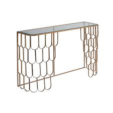 brass console table. Amelia Brass Console Table E