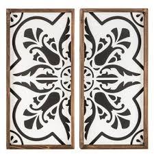 medallion wood wall decor set hobby