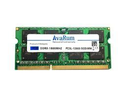 AVARUM RAM 8G DDR3 PC3L-12800 1600MHz 204-Pin 2RX8 ...