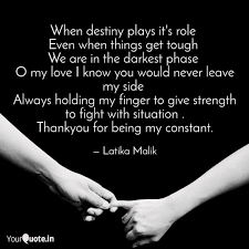 Destiny Love Quotes Classy When Destiny Plays It's R Quotes Writings By Latika Malik